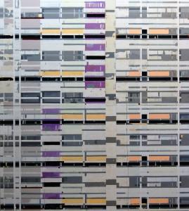 Andreasecke, 2008, 250x225 cm, Acryl, Öl auf Leinwand