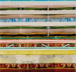 Hotel Hanoi 2, 2003, 76x80 cm, Acryl, Öl auf Holz