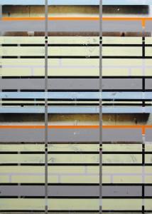 KMA 1, 2008, 160x115 cm, Acryl, Öl auf Holz