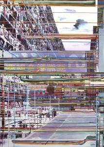 LSD, 2005, 160x115 cm, Acryl, Öl auf Holz