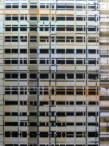 Leerstand, 2008, 300x225 cm, Acryl, Öl auf Leinwand