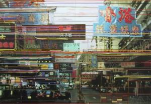 Night+Day, 2004, 160x230 cm, Acryl, Öl auf Holz