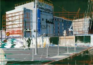 Nr.159, 2011, 21x29 cm, Acryl, Öl auf Foto