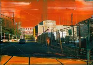 Nr.160, 2011, 21x29 cm, Acryl, Öl auf Foto