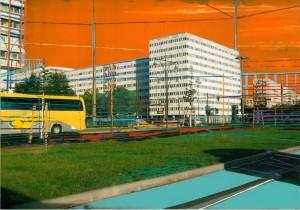 Nr.162, 2012, 21x29 cm, Acryl, Öl auf Foto