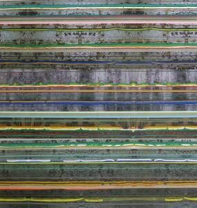 Insula 546, 2010, 240x230 cm, Acryl, Öl auf Holz
