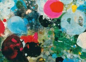 Randori 12, 2000, 115x160 cm, Acryl, Öl auf Holz