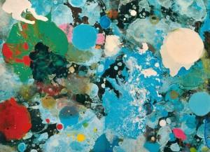Randori 56, 2000, 115x160 cm, Acryl, Öl auf Holz