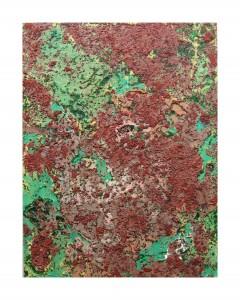 S 45, 2013, 76x58 cm, Acryl, Öl auf Holz