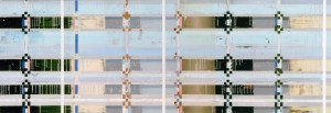 Singer, 2007, 80x230 cm, Acryl, Öl auf Holz
