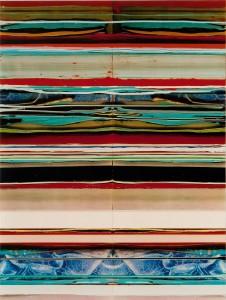 Veiled Sisters 1, 2003, 77x58 cm, Acryl, Öl auf Holz