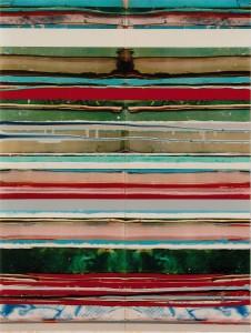 Veiled Sisters 3, 2003, 77x58 cm, Acryl, Öl auf Holz