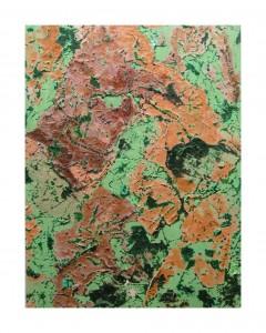 o.T., 2013, 76x58 cm, Acryl, Öl auf Holz