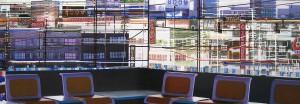 stühle, 2006, 80x230 cm, Acryl, Öl auf Holz