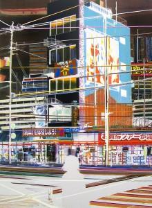 video ,2006, 160x115 cm, Acryl, Öl auf Holz