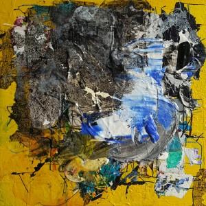 Nr. 1016, 60 x 60 cm, Acryl auf Holz, 2016