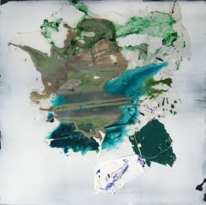 Nr. 1616, 60 x 60 cm, Acryl auf Holz, 2016
