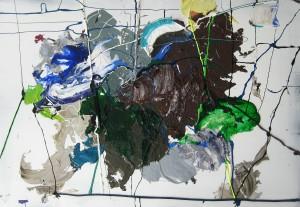 Nr. 2016, 80 x 115 cm, Acryl auf Holz, 2015 - 2016