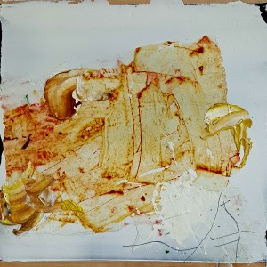 Nr. 816, 60 x 60 cm, Acryl auf Holz, 2016