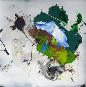 Nr. 916, 60 x 60 cm, Acryl auf Holz, 2016