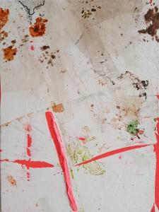 Nr. 1118, 80 x 60 cm, Acryl auf Leinwand, 2018