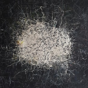 Nr. 1417, 180 x 180 cm, Acryl auf Leinwand, 2017