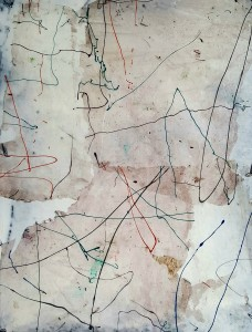 Nr. 1817, 80 x 60 cm, Acryl auf Leinwand, 2017