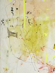 Nr. 318, 80 x 60 cm, Acryl auf Leinwand, 2018