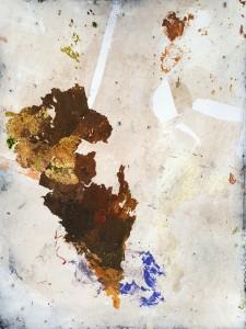 Nr. 718, 80 x 60 cm, Acryl auf Leinwand, 2018